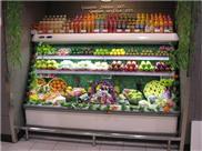 超市風幕柜、海爾風幕柜、海爾水果保鮮柜