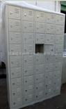 50门手机柜工厂员工手机柜 斜顶式储物柜 防尘更衣柜