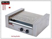 唯利安 HD-11 十一棍滚筒式烤香肠机 烤热狗机 烤火腿肠机
