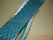 供应特殊工业皮带特高效花纹加导条专用包装机使用环形输送带