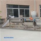 供应净菜加工成套设备不锈钢涡流式清洗机