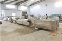 供應大型流水線板栗漂燙機 毛豆漂燙冷卻流水線設備