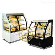 肯鼎尔蛋糕冷藏展示柜价格 圆弧蛋糕保鲜柜厂家