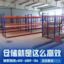 高质量阁楼重型货架,选牧隆货架厂五年质保