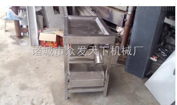 不锈钢自动化鸭剥胗机