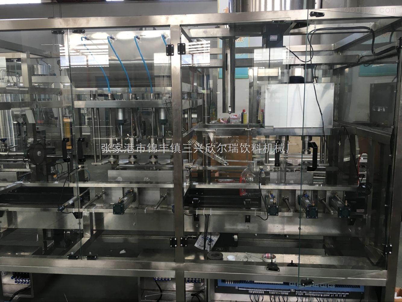 直线式灌装生产线设备价格