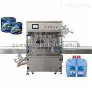 厂家直销 辽宁500ml全自动防冻液灌装机 直线式油脂灌装机