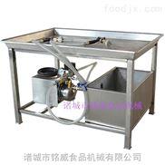 新款手动盐水注射机不锈钢制作