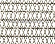 金属输送网带金属物流快递双旋网带