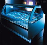 冰友牌商用L款前固定式-22度冰淇淋展示柜