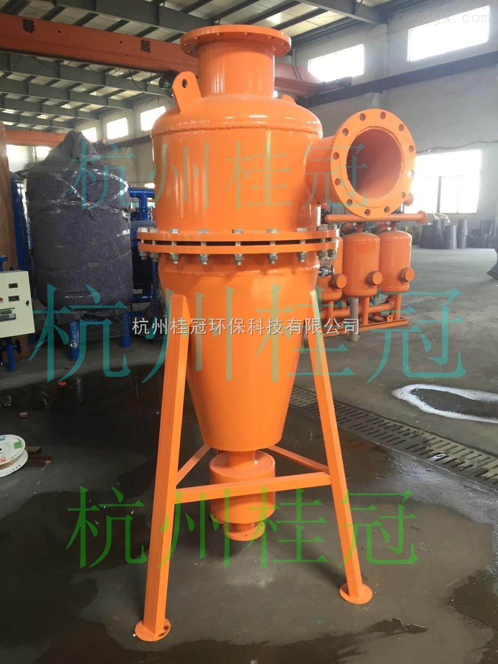 灌溉旋流除砂器原理