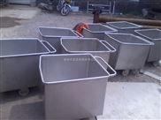 不锈钢料斗车,厂家供应肉制品加工小料车
