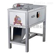 供应永强YQ-300卧式双滚刀不锈钢电动切片切丝鲜肉片肉丝机