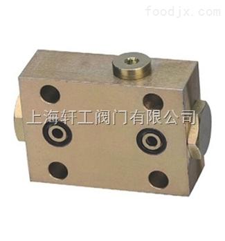 液压阀 > yss-8bs型双向液压锁-上海轩工阀门有限公司  产品型号: yss图片
