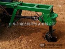 供应多功能挖坑机 拖拉机悬挂挖坑机不怕石头树根