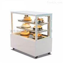 蛋糕柜 直角冷藏展示柜 甜品保鲜柜 食品冰柜