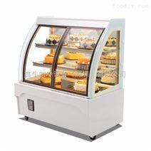 前开门蛋糕柜冷藏展示柜慕斯熟食甜品西点玻璃风冷保鲜柜圆弧冰柜