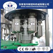 CGF18-18-6专业生产三合一啤酒灌装机玻璃瓶易拉盖封口机厂家