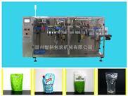 温州液体全自动包装机-给袋式单工位全自动包装机