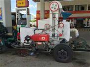 流动15III型重力筛车载碾米机