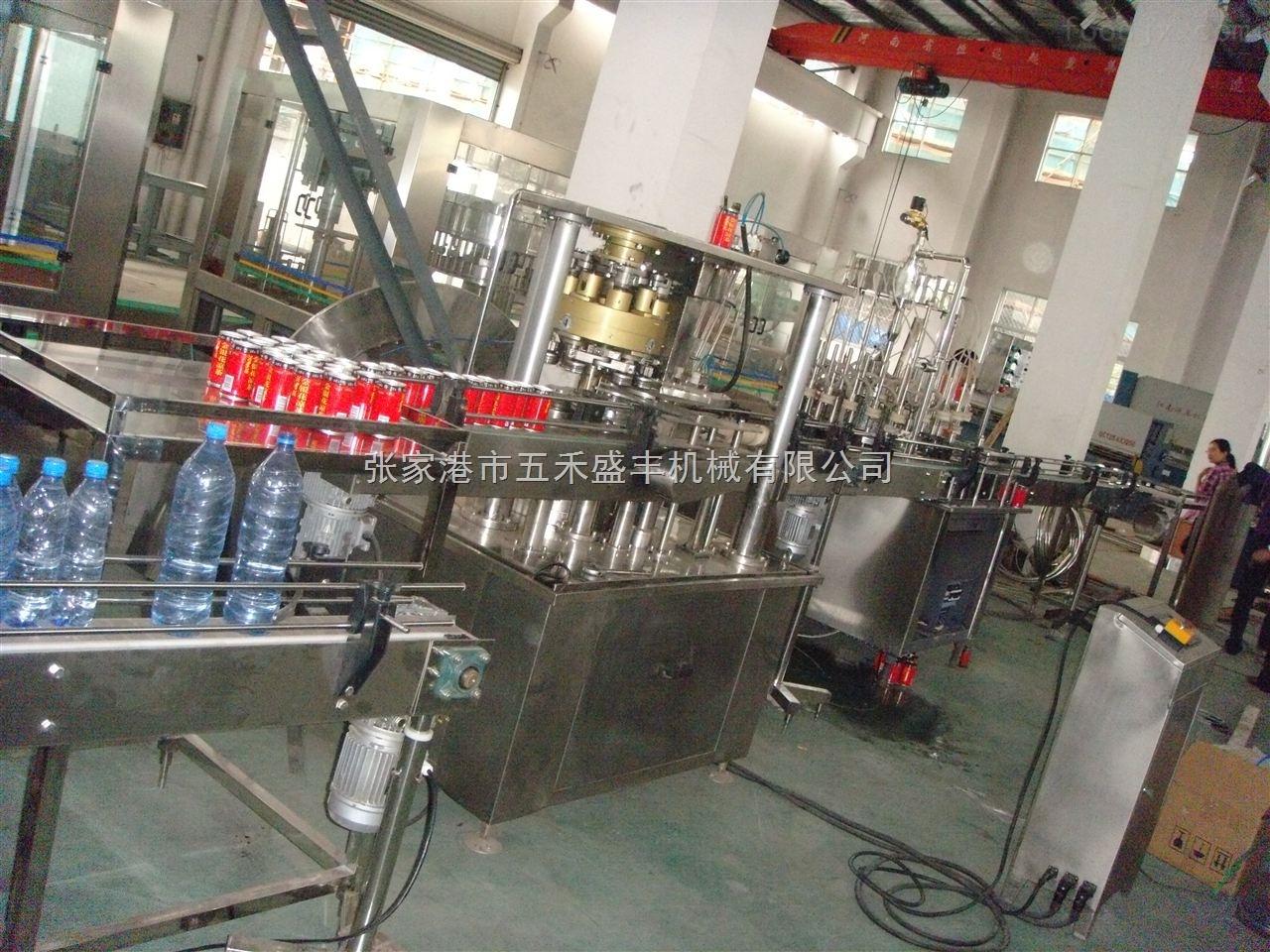 易拉罐果汁、茶饮料生产线