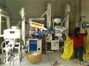 广西全新电动一体化出料成套碾米机