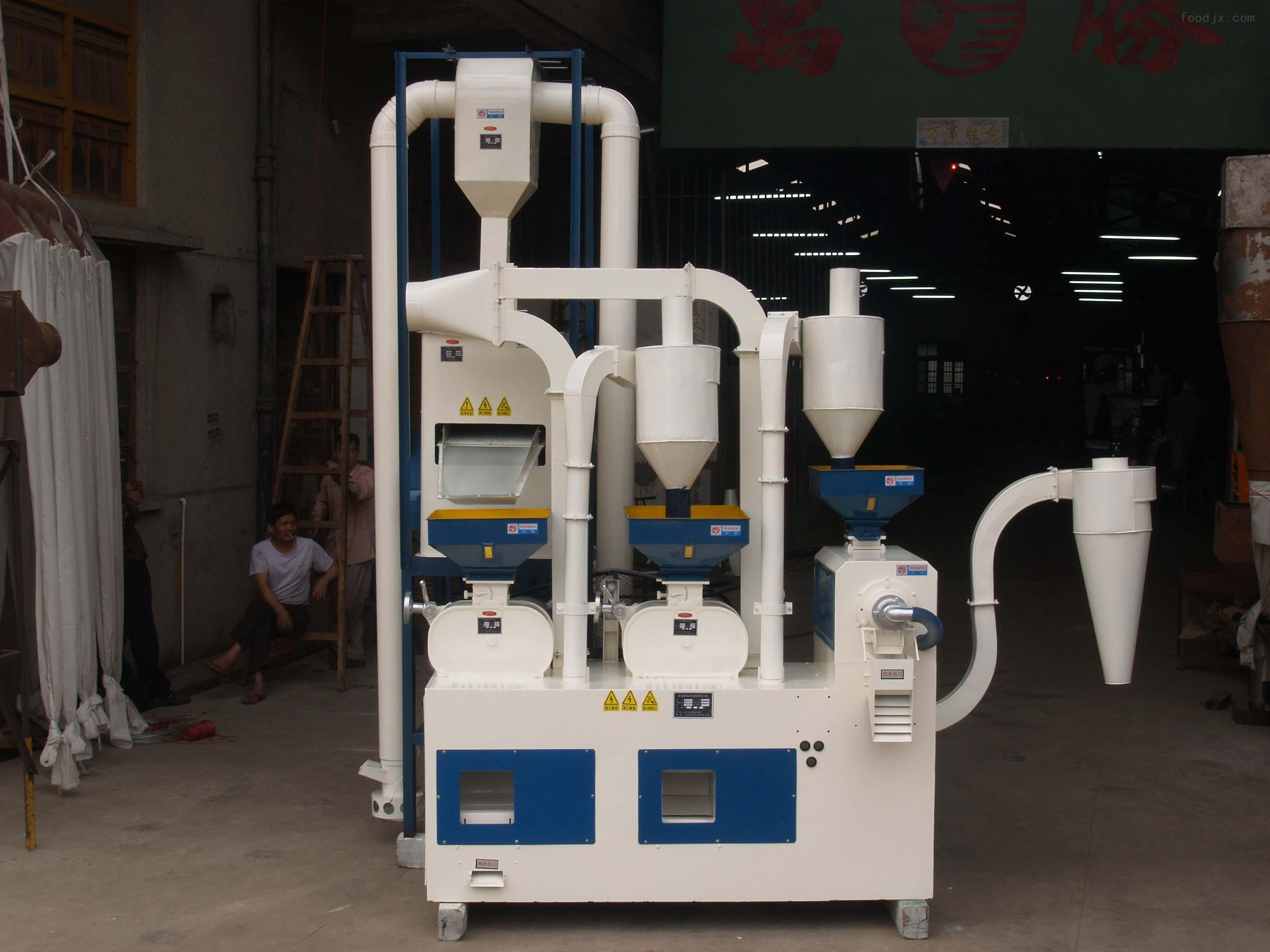 5型 深圳哈欧新型双砻谷碾米组合机 打米机 城乡粮食加工厂小型大米