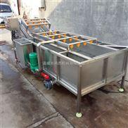 果蔬清洗机/毛辊去皮清洗设备厂家