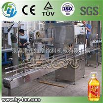 直线式油类灌装生产线