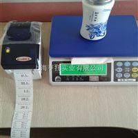 包装业3kg打印电子桌秤 不干胶热敏打印电子桌秤