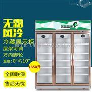 广西超市冷柜便利店风冷饮料柜冷藏立式冰柜厂家直销