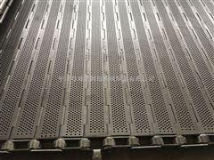 100长节距不锈钢冲孔链板