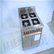 四头燃气煲仔炉厂家供应  不锈钢厨房设备  大小厨具批发