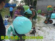 黑龙江牧草打捆包膜机 青贮鲜草包膜机厂家
