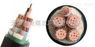 电力电缆100米  0.6/1KV  ZR-YJV22 3*50+1*25