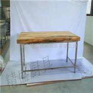 工厂厨房专用木面工作台 抗腐蚀经久耐用工作台 食堂面食制作台面