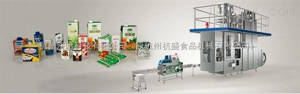 无菌纸盒酸奶灌装机
