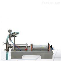 臥式單頭液體灌裝機
