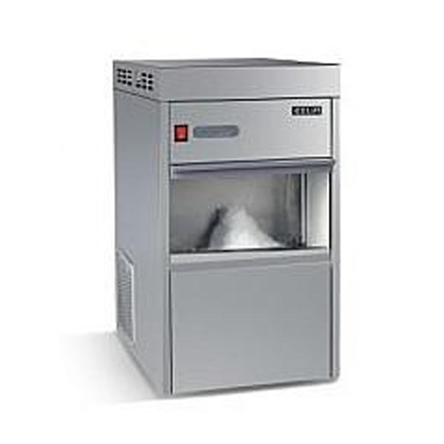 产品:全自动雪花机    日产量:100kg/24h    制冷剂:r134a  型号:ims