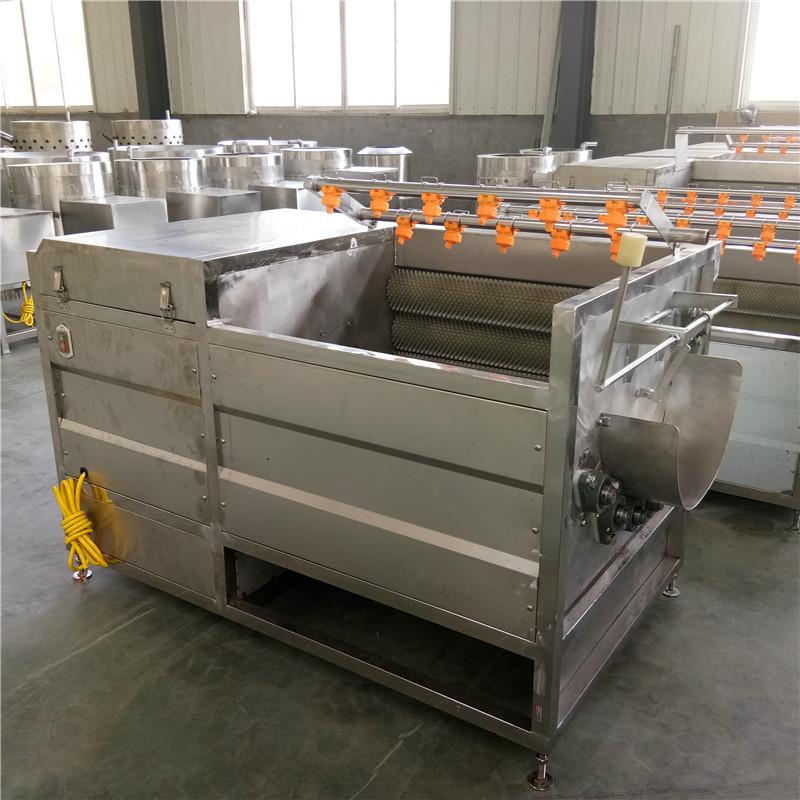 结构简单,使用安全可靠,清洗效率高,是生猪屠宰加工厂的必备辅助产品.