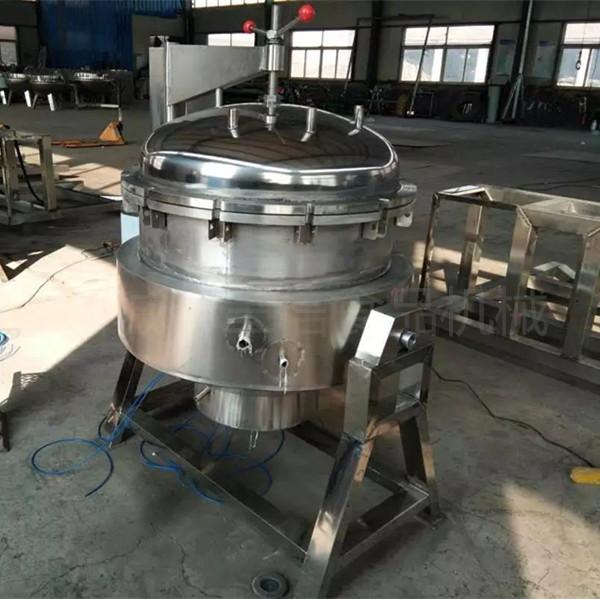 可倾式电加热卤味蒸煮锅